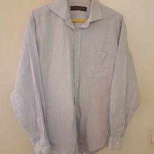 799327ad Louis Vuitton Uniformes Blue Striped Shirt Men 41